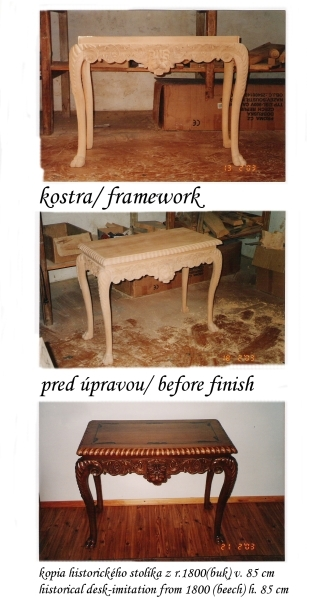Copy Of The Historical Table Furniture Design Mat Proks
