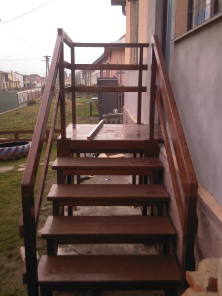 removable wooden stairs