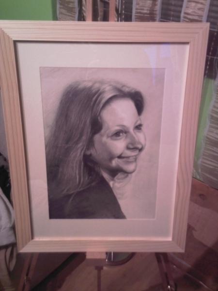 Portret Zeny Iii Maľba A Kresba Matus Proks